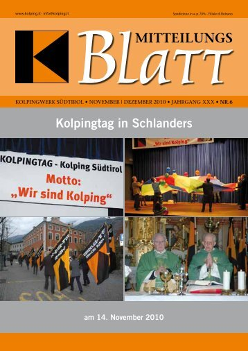 80 Jahre: Alt-Generalpräses Heinrich Festing - Kolpingwerk Südtirol