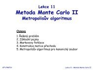 Metoda Monte Carlo II
