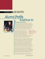 Alumni Profile - Juniata College