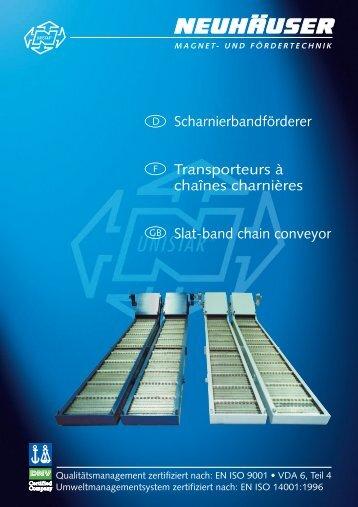 Standard - NEUHÄUSER Magnet- und Fördertechnik