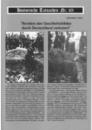 Historische Tatsachen - Nr. 101 - Siegfried Egel - 'Revision des ...