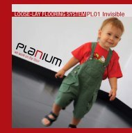 Loose-lay floor - Planium