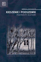 kieszenie i podszewki - Wydawnictwo Uniwersytetu Jagiellońskiego