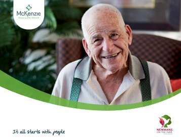 Download Newmans on the Park Brochure - McKenzie Aged Care