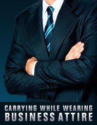 Carrying While Wearing Business Attire - US Concealed Carry