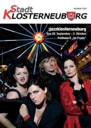 (6,54 MB) - .PDF - Stadtgemeinde Klosterneuburg