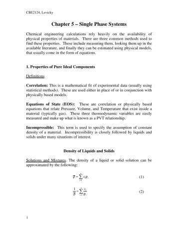 Chapter 5 – Single Phase Systems ∑