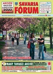 MWOUĘ- - Savaria Fórum