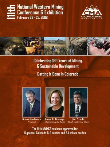 National Western Mining Conference & Exhibition - Colorado Mining ...