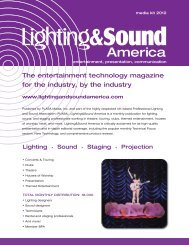 Media Kit - Lighting & Sound America