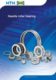 Machined ring needle roller bearings (continued) - Coroll SK