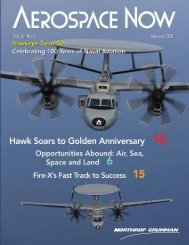 1 Vol. 3, No. 1 January 2011 - Northrop Grumman Aerospace Systems