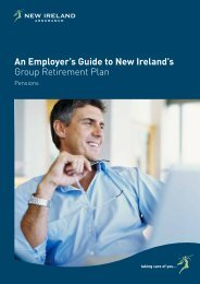 Employer Guide to Group Retirement Plan - New Ireland Assurance