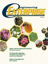 Nature and the Industrial Enterprise - H. Milton Stewart School of ...