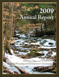 Annual Report - Northern Tier Regional Planning and Development ...