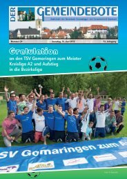 Ausgabe :Gomaringen 15.06.13.pdf - Gomaringer Verlag