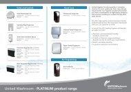 United Washroom - PLATINUM product range - i-FM.net