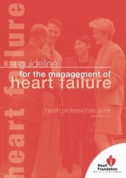 A Guideline for the Management of Heart Failure ... - NZ Health Trust