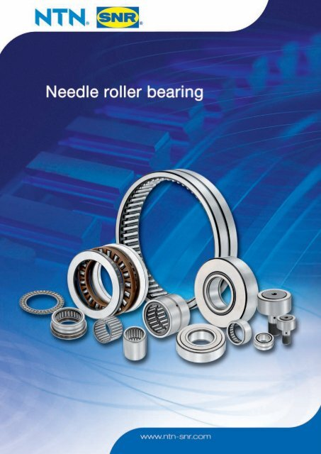 Machined ring needle roller bearings - NTN-SNR: подшипники