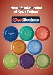 Nuovi favolosi colori di QuanTanium