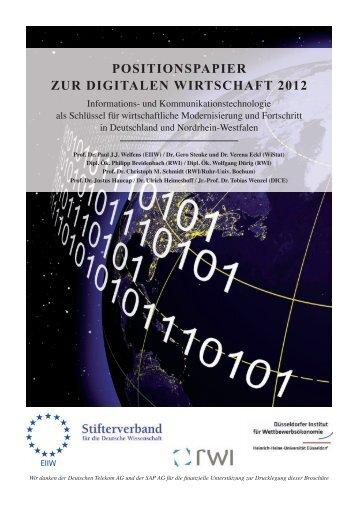 Anhang 2: Cluster Analyse für IKT - EIIW