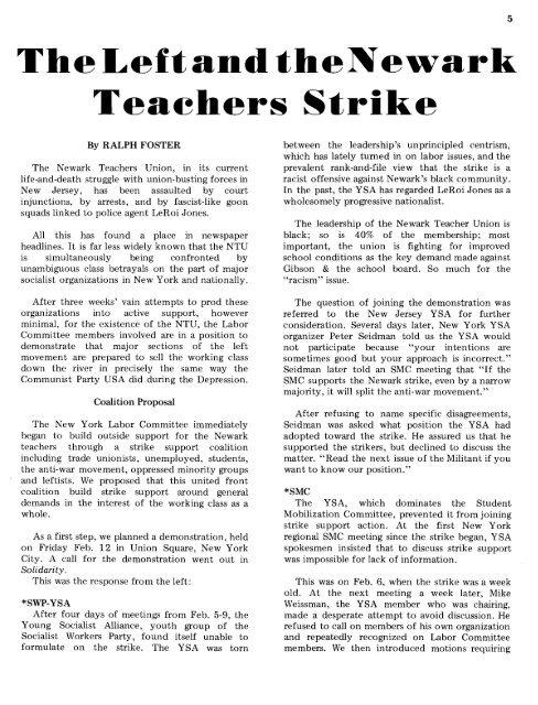 4teachers Strike Now In
