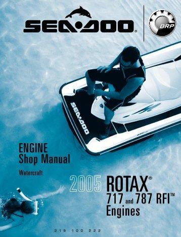 engine, rotax 717 and 787 rfi - Sea-Doo.net
