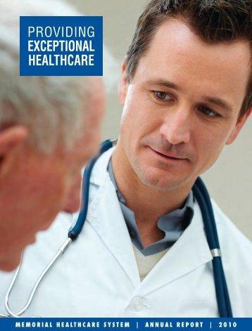 Annual Report 2010 - Joe DiMaggio Children's Hospital
