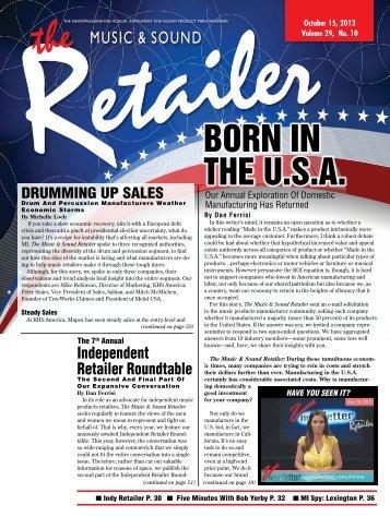October, 2012 - Music & Sound Retailer