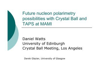 Possibilities for nucleon polarimetry - A2 Mainz