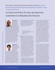 La Carta de la Tierra: El inicio del desarrollo sostenible en la ...