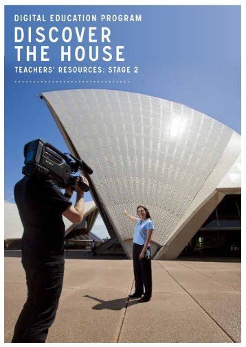 discover the house stage 2 - Sydney Opera House