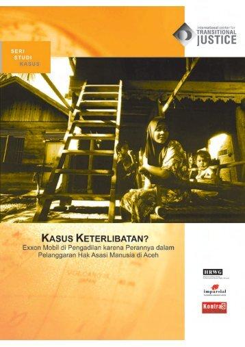 Seri Studi Kasus - International Center for Transitional Justice