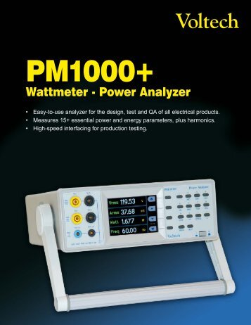 Product Brochure - Westek Electronics