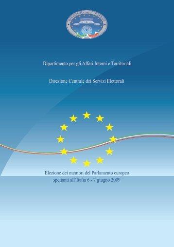 Elezione dei membri del Parlamento europeo spettanti all'Italia 6-7 ...