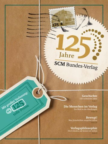 125 Jahre SCM Bundes-Verlag