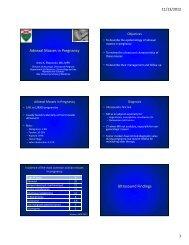 Adnexal Masses in Pregnancy Ultrasound Findings - Cmebyplaza.com