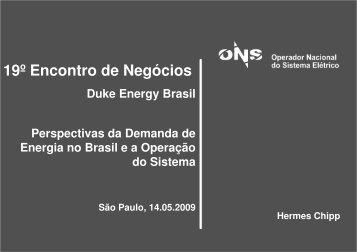 19º Encontro de Negócios - Fórum Nacional de Energia