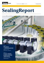 Sealing products and legal requirements - Parker Hannifin ...