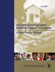 The 2008 Annual Homeless Assessment Report to Congress