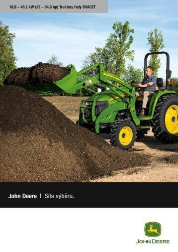 John Deere | Síla výběru.