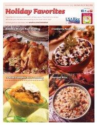 Holiday Favorites - USA Rice Federation