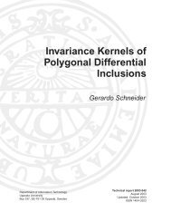 Invariance Kernels of Polygonal Differential Inclusions