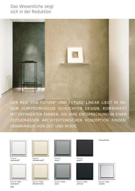 Busch Jaeger Future Linear Abdeckung Serien-Dimmer Davos-Studioweiß 6545-84