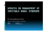 UPDATES ON MANAGEMENT OF IRRITABLE BOWEL SYNDROME