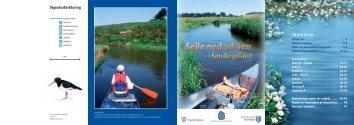Sejle ned ad åen i Sønderjylland - Haderslev Kommune