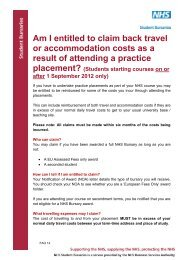 Am I entitled to claim back travel or accommodation costs as a result ...