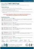 ImmunoFlow HIV1-HIV2 TEST - DocCheck Shop - Page 2