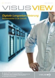 Digitale Langzeitarchivierung - Visus Technology Transfer GmbH