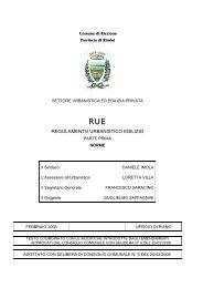 RUE - Comune di Riccione